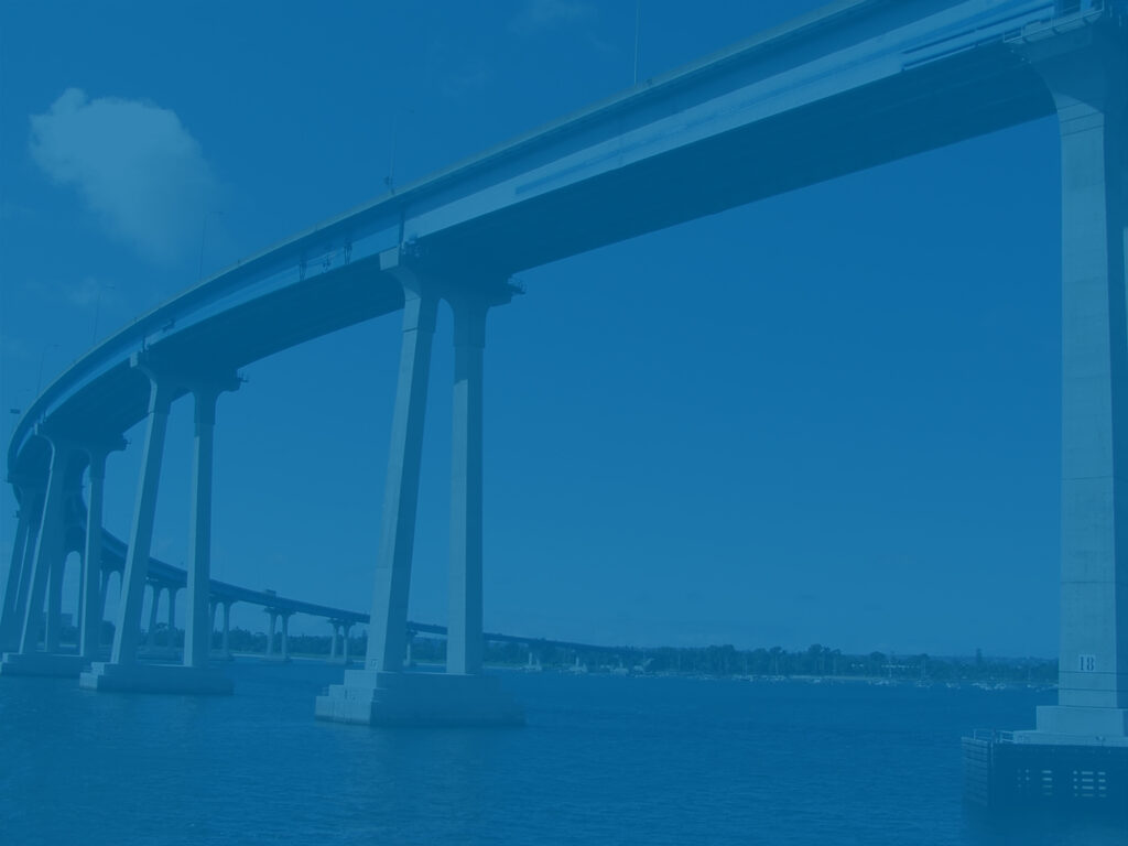 Coronado Bridge - metaphor for bridging the business value gap