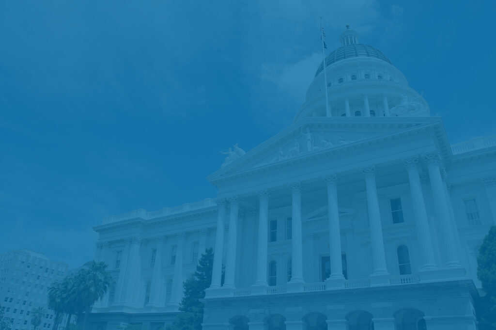 California state capital building - high-tax state