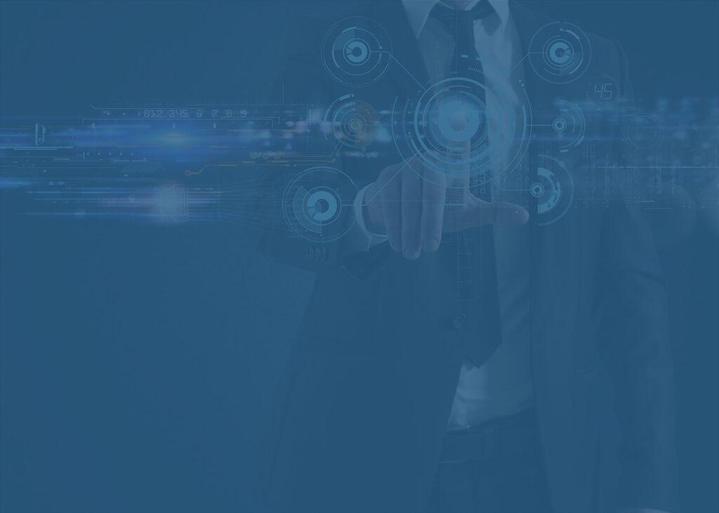 Digital business concept for crypto integration